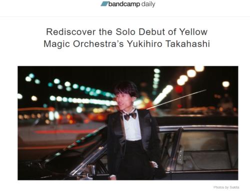 bandcamp daily: Rediscover the Solo Debut of Yellow Magic Orchestra's Yukihiro Takahashi